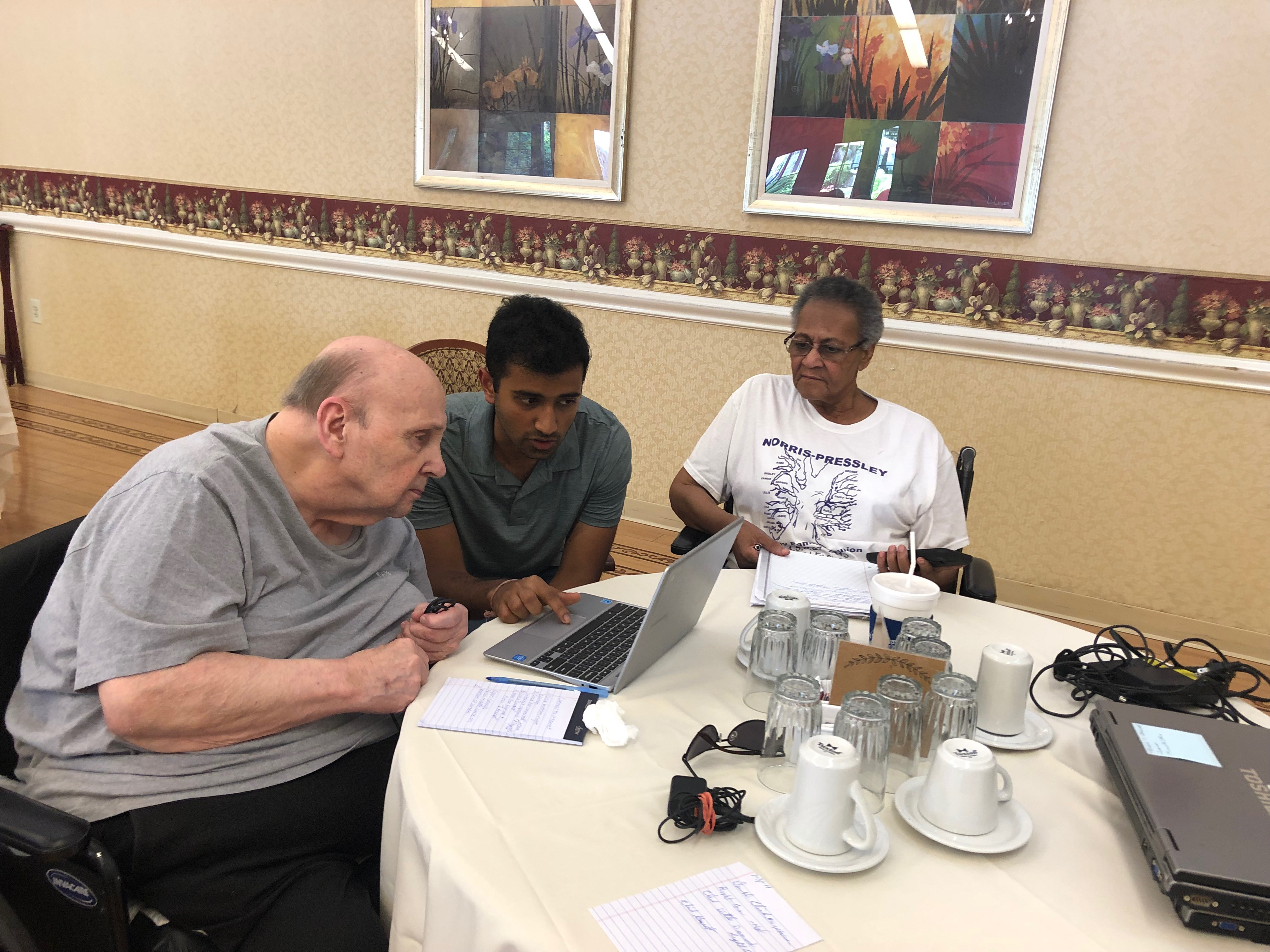 Elderly Technology Education at ManorCare